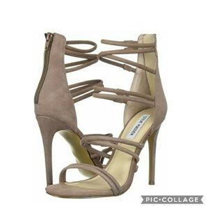 Nib! Steve madden tito high heels blush nubuck 6